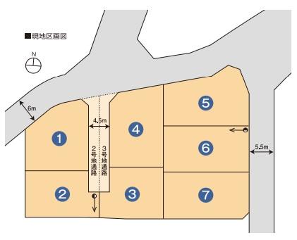 三島市壱町田分譲地7区画(ハウジングタウン三島市壱町田)